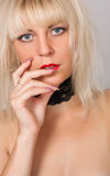 Sexy blonde Royalty Free Stock Images