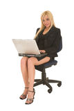 blonde businesswoman Royalty Free Stock Image