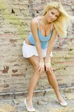Blonde Model Royalty Free Stock Photo