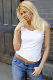 Blonde Model Royalty Free Stock Images