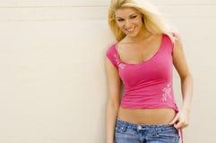 Blonde Model Stock Image