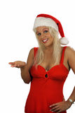 Sexy Blonde Santa's Helper (1) Stock Photo