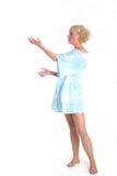 blonde vrouw Royalty-vrije Stock Afbeeldingen