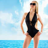 Sexy blonde woman Royalty Free Stock Images