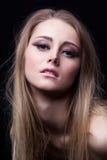 blonde yong woman Stock Image