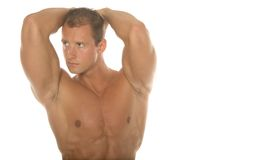 Sexy body builder Stock Image
