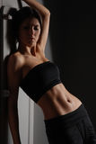 Sexy body of young attractive lady Stock Images
