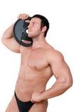 bodybuilder. stock photos