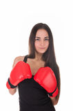 Sexy Boxing Woman Stock Photos