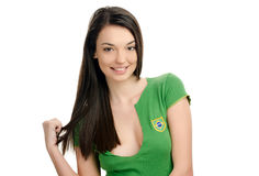 Brazil girl. Stock Photos