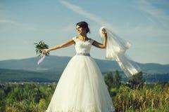 Sexy bride cute woman royalty free stock photos