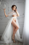 Sexy bride Stock Image