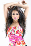 Sexy brunette stock fotografie