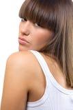 brunette Stock Photo