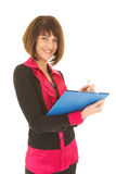 brunette businesswoman Royalty Free Stock Images