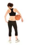 brunette fitness woman Stock Image