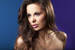 Sexy brunette girl - portrait Royalty Free Stock Photo
