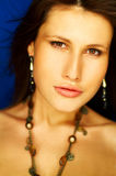 Sexy Brunette Portrait Stock Image