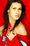 Sexy Brunette Portrait Stock Images