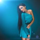 Sexy brunette. Studio photo. Stock Images