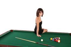 brunette woman 40 Stock Image