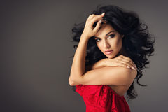 Sexy brunette woman Royalty Free Stock Photo