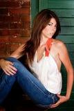 Brunnete Girl stock photo