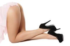 Sexy bum and legs Stock Photo