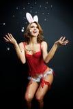 bunny girl Royalty Free Stock Image
