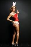 Sexy bunny girl Stock Image