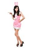 bunny girl Stock Photography