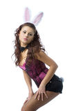 Sexy bunny girl Stock Photo