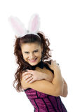 Sexy bunny girl Royalty Free Stock Images