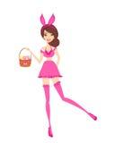 bunny girl Stock Image