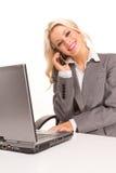 Sexy business woman Stock Photos