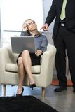 Sexy Business woman Stock Images