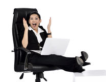 Sexy business woman Stock Image