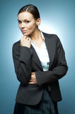 Business Woman MG. Royalty Free Stock Image