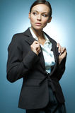 Sexy Business Woman MG. Royalty Free Stock Images