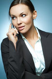 Sexy Business Woman MG. Royalty Free Stock Photos