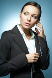 Business Woman MG. Royalty Free Stock Photography