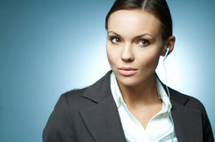 Sexy Business Woman MG. Stock Images