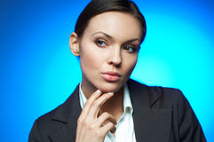 Business Woman MG. Royalty Free Stock Images