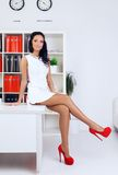 Sexy Business Woman Royalty Free Stock Photo