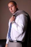 Sexy businessman. Stock Photo