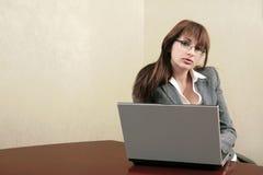 Sexy businesswoman Stock Photo