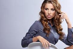 Sexy businesswoman Royalty Free Stock Photos