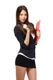 Sexy businesswoman portrait Stock Image