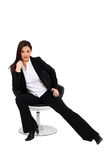 A sexy businesswoman. Stock Photography
