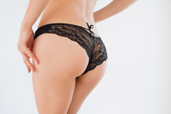 Sexy butt girls in underwear Royalty Free Stock Photo